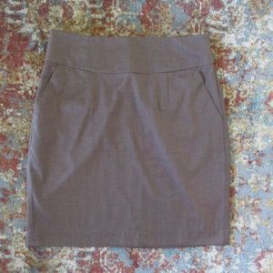 NWT Banana Republic Brown Pencil Skirt Work